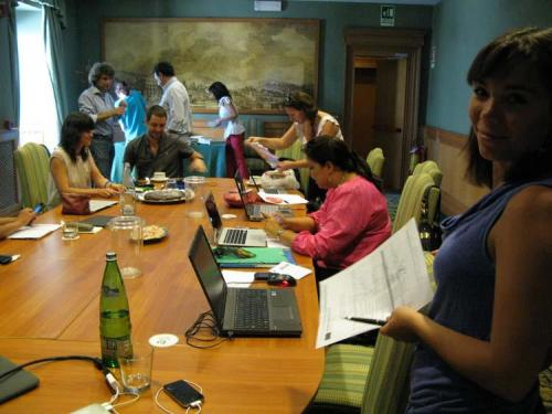 Euromed Audiovisual III Programme - Communication Training - Rome, 2012