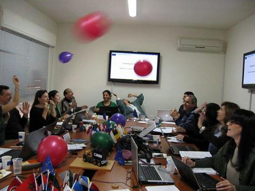 Euromed Audiovisual III Programme - RMSU Training on technical support to the six projects - Amman, Jordan,2012 (3)