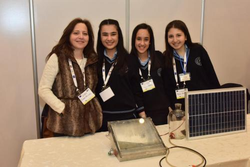 Youth researchers from Rosay College with their teacher