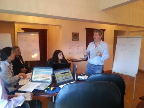 Euromed Youth IV Programme - Training on PE & webtools to the Egyptian Youth Unit in Cairo, 2012