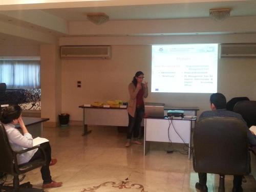 Euromed Youth IV Programme - Training on PE & webtools to the Egyptian Youth Unit in Cairo, 2012 (2)
